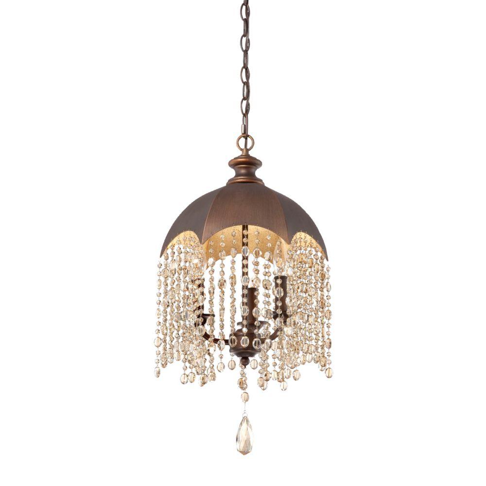 eurofase ombrello collection 3 light oil rubbed bronze