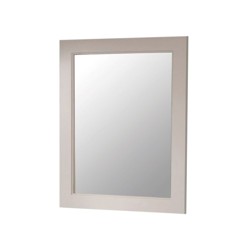 Seal Harbor 23 Inch x 28 Inch Wall Mirror in Sharkey Gray - SLWM23C-SG SLWM23COMC-SG Canada Discount