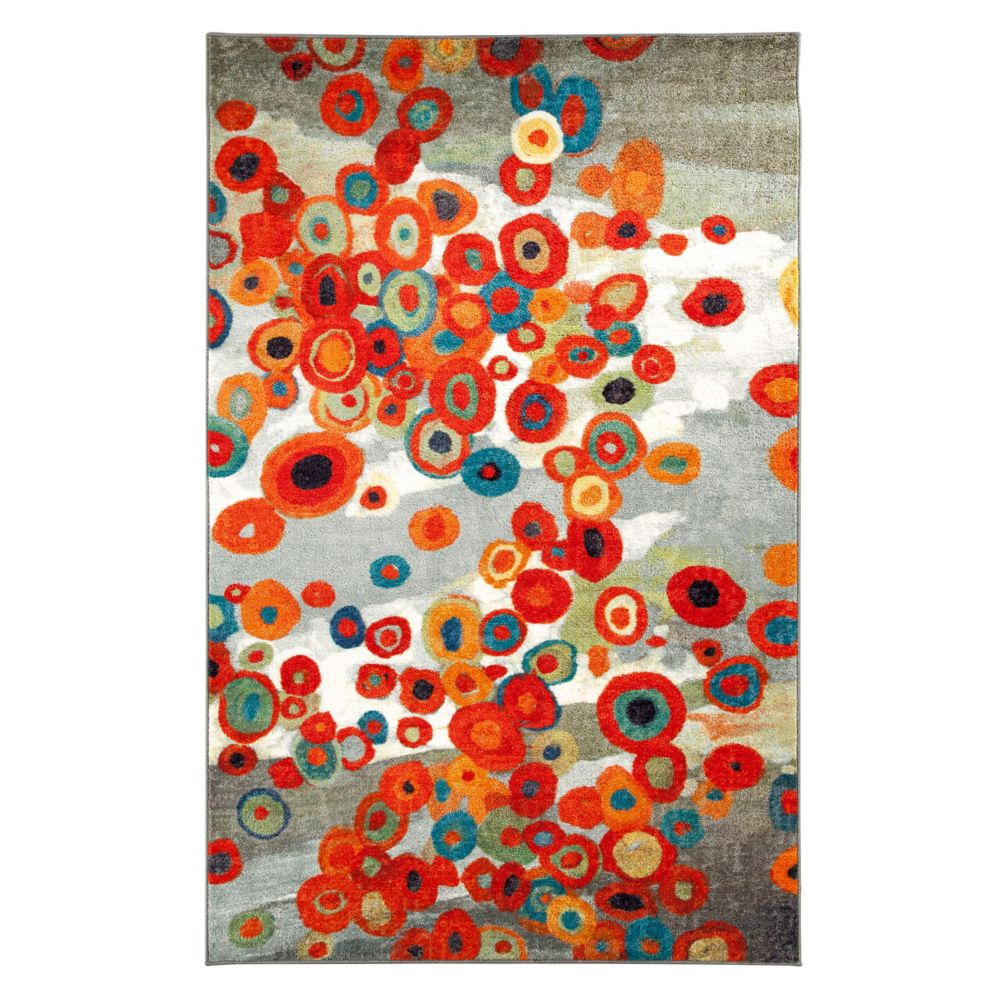 Tossed Floral Multi 60 Inch x 96 Inch Rug