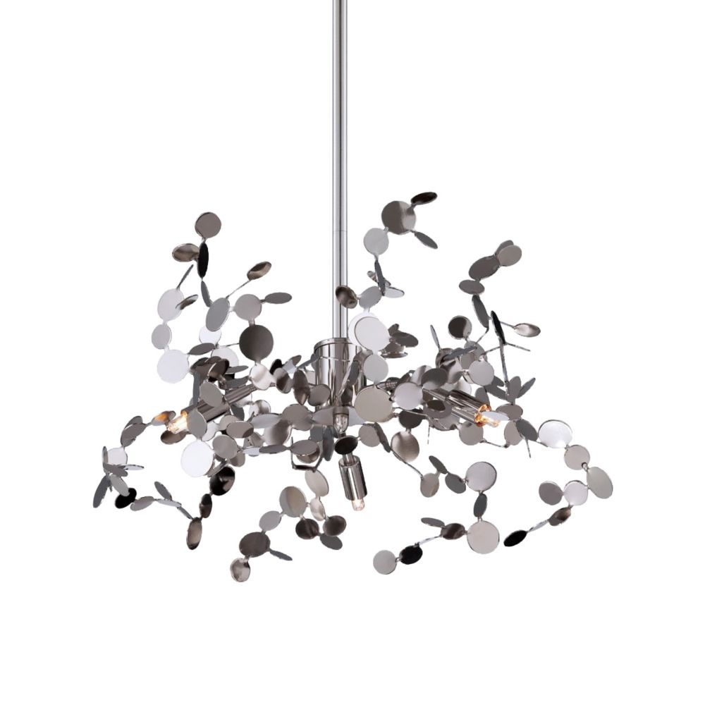 Divo Collection 3 Light Nickel Pendant