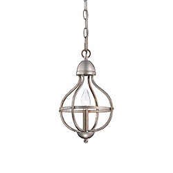 Eurofase Ricco Collection 1-Light Silver Pendant