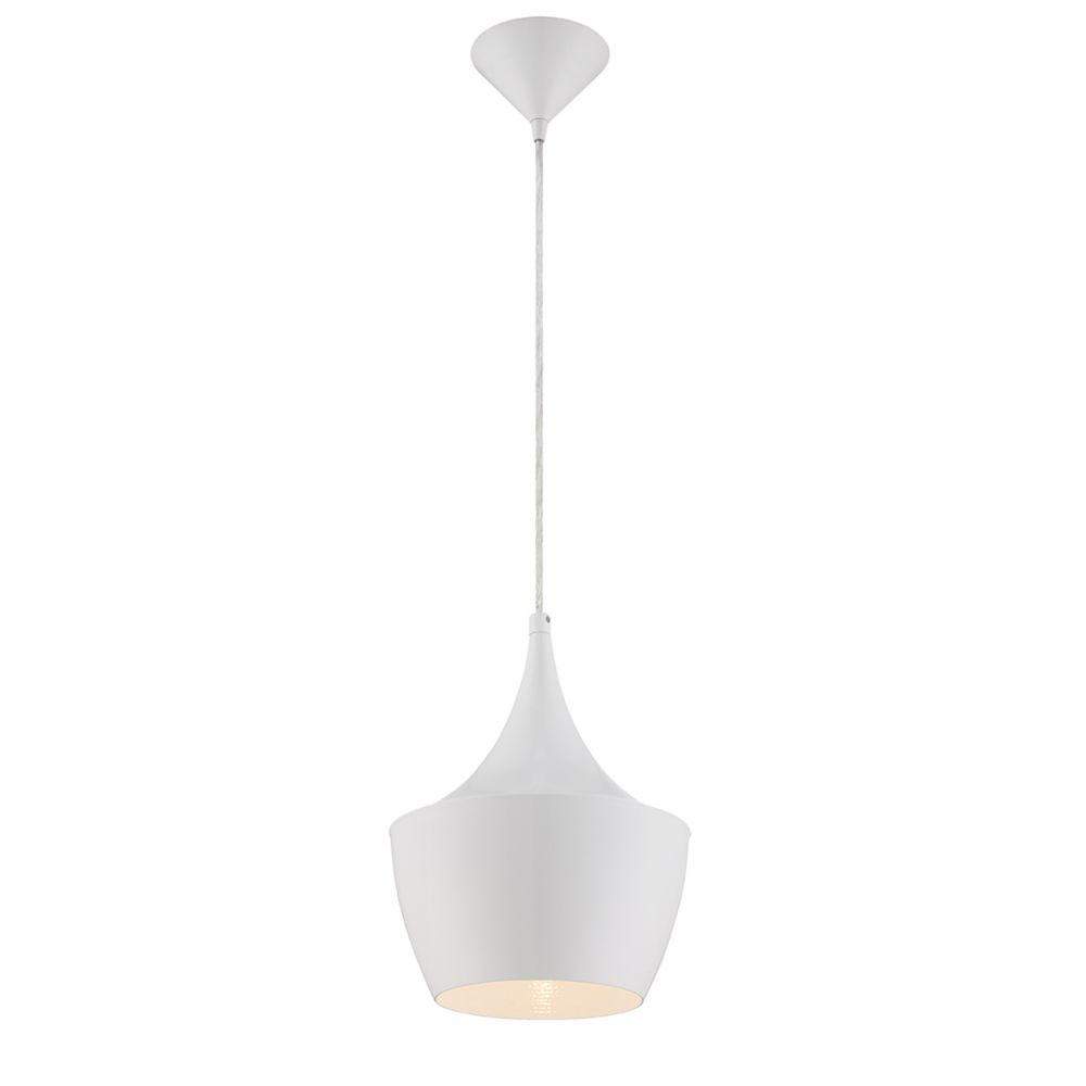 Eurofase Piquito Collection 1 Light White Pendant