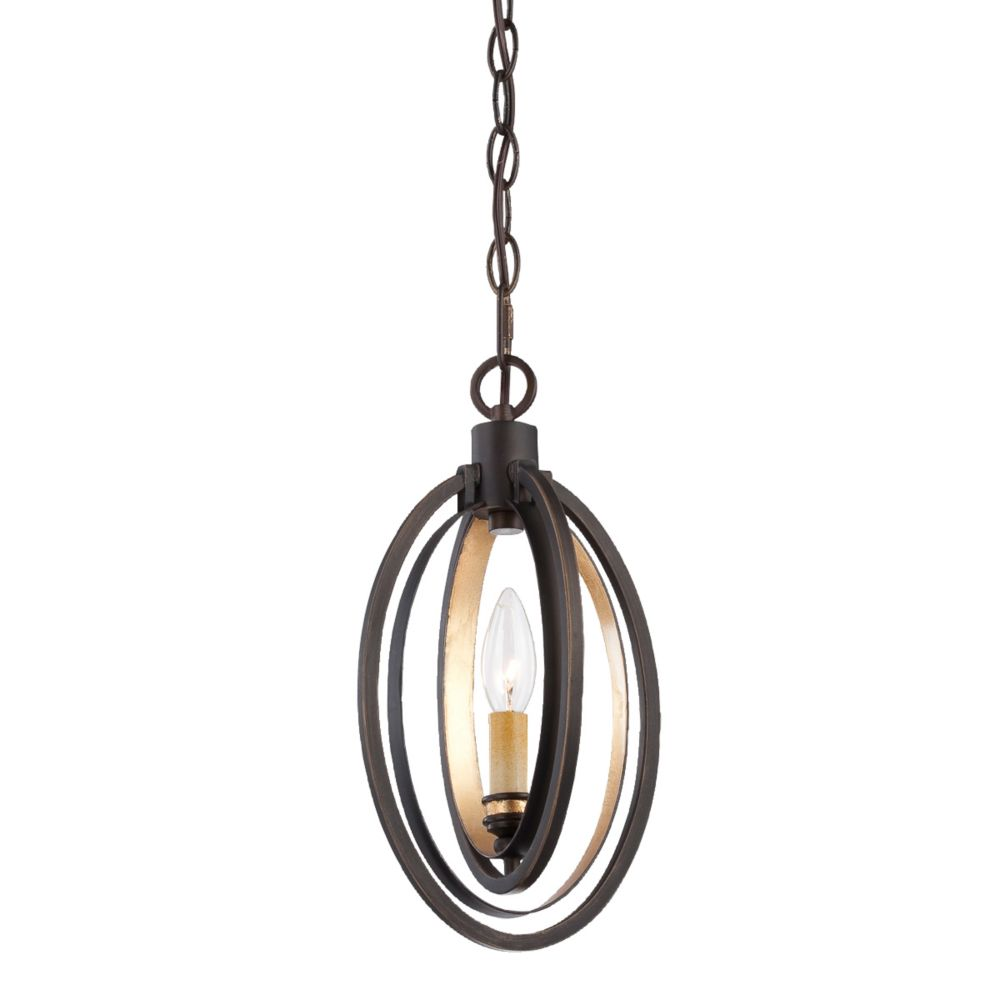Luminaire Suspendue à 1 Lumière, Collection Infinity
