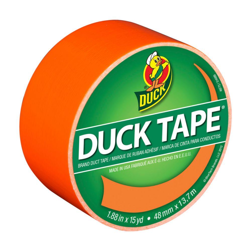 Duck 1.88 Inchx15Yd All Purpose Duct Tape Orange