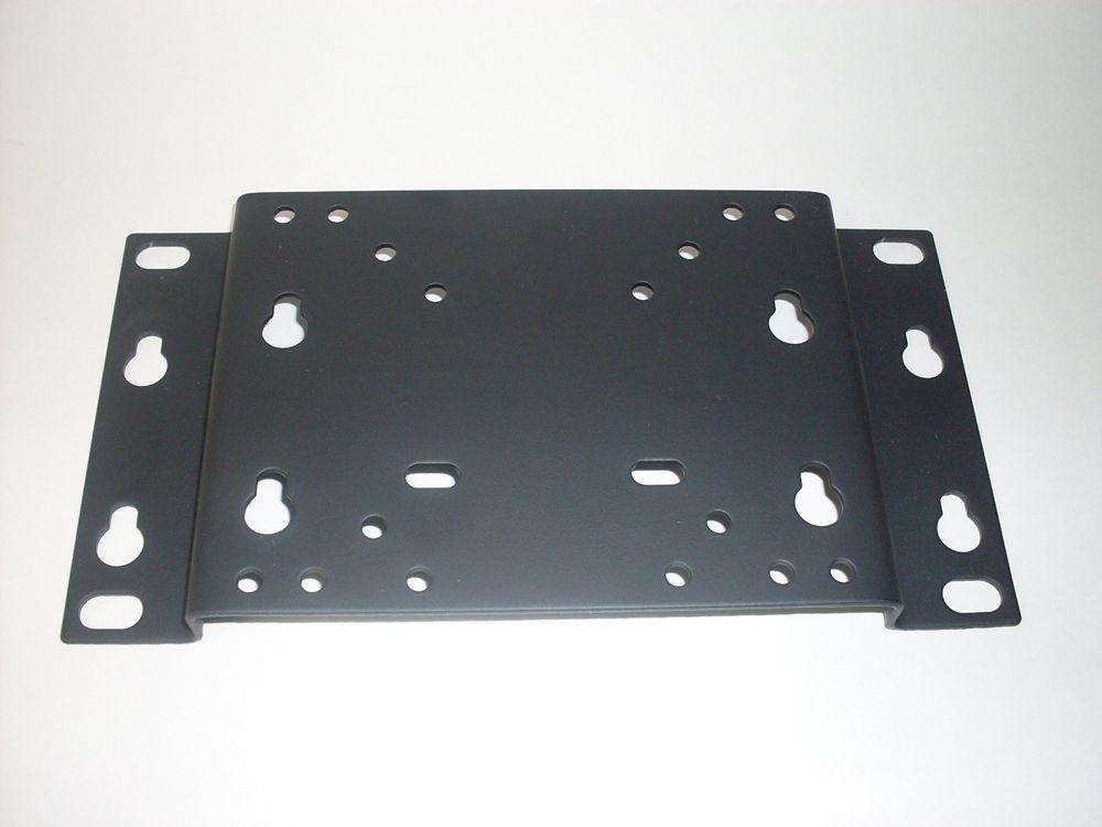 102 Flat/Fixed TV Wall Mount & VESA Adapter Plate Black