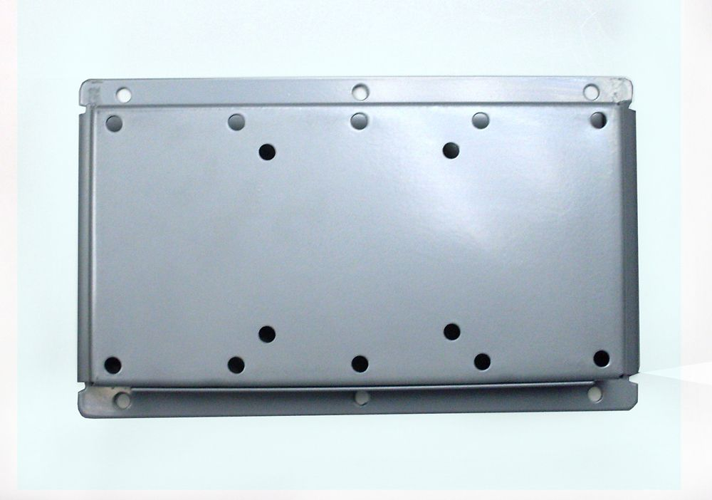 104 Wide Flat/Fixed TV Wall Mount Silver