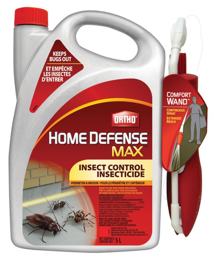 Home Defense MAX Insecticide pour le périmètre et l'intérieur 5 L