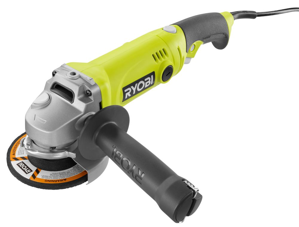 4 1/2- Inch Angle Grinder with Rotating Rear Handle