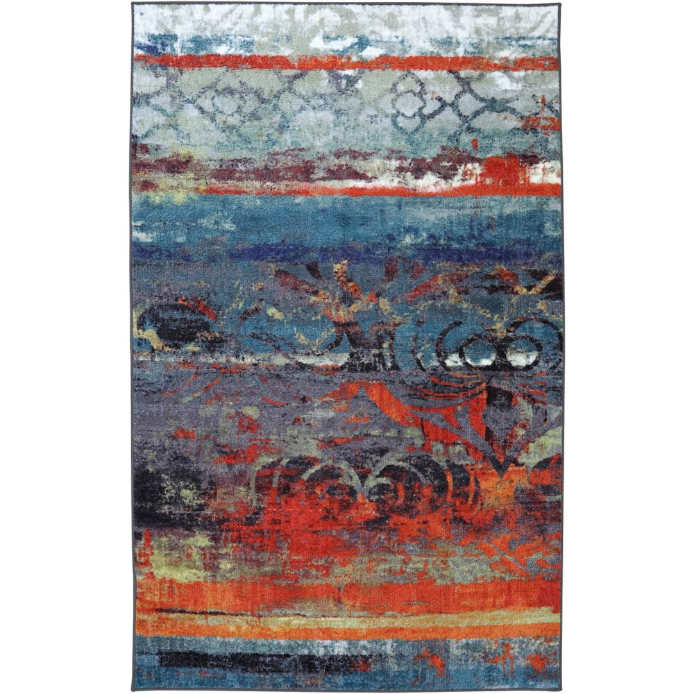 Eroded Color Multi 96 Inch x 120 Inch Rug 395759 Canada Discount