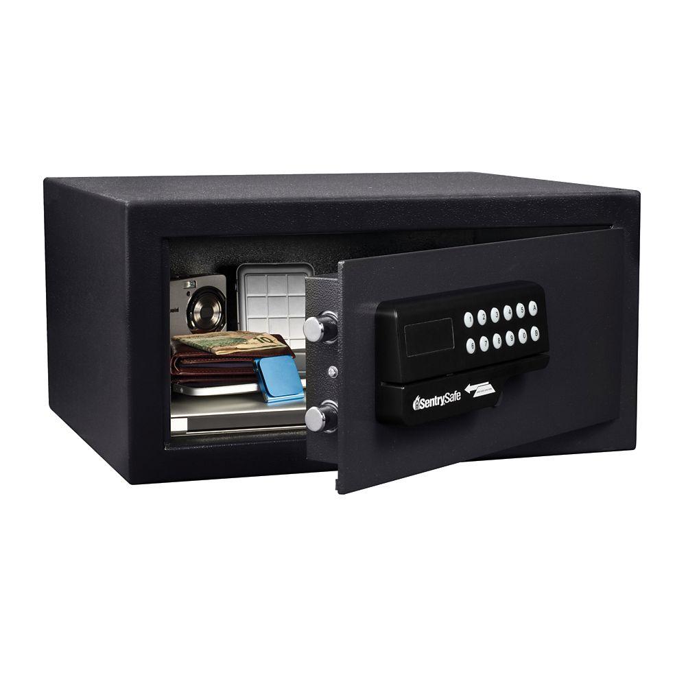 Card Access Safe - 1.0 Cu. Feet, black