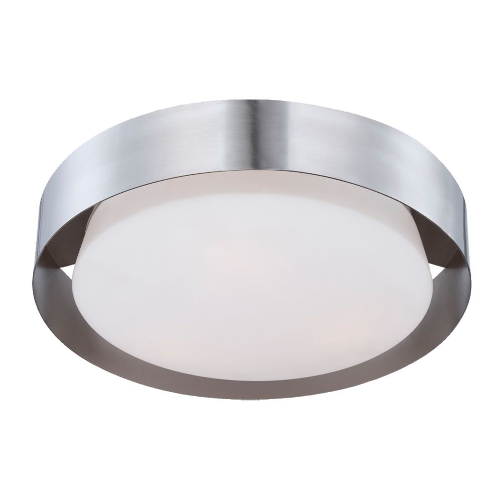 Saturn Collection 3 Light Satin Nickel Flushmount 25732-016 Canada Discount