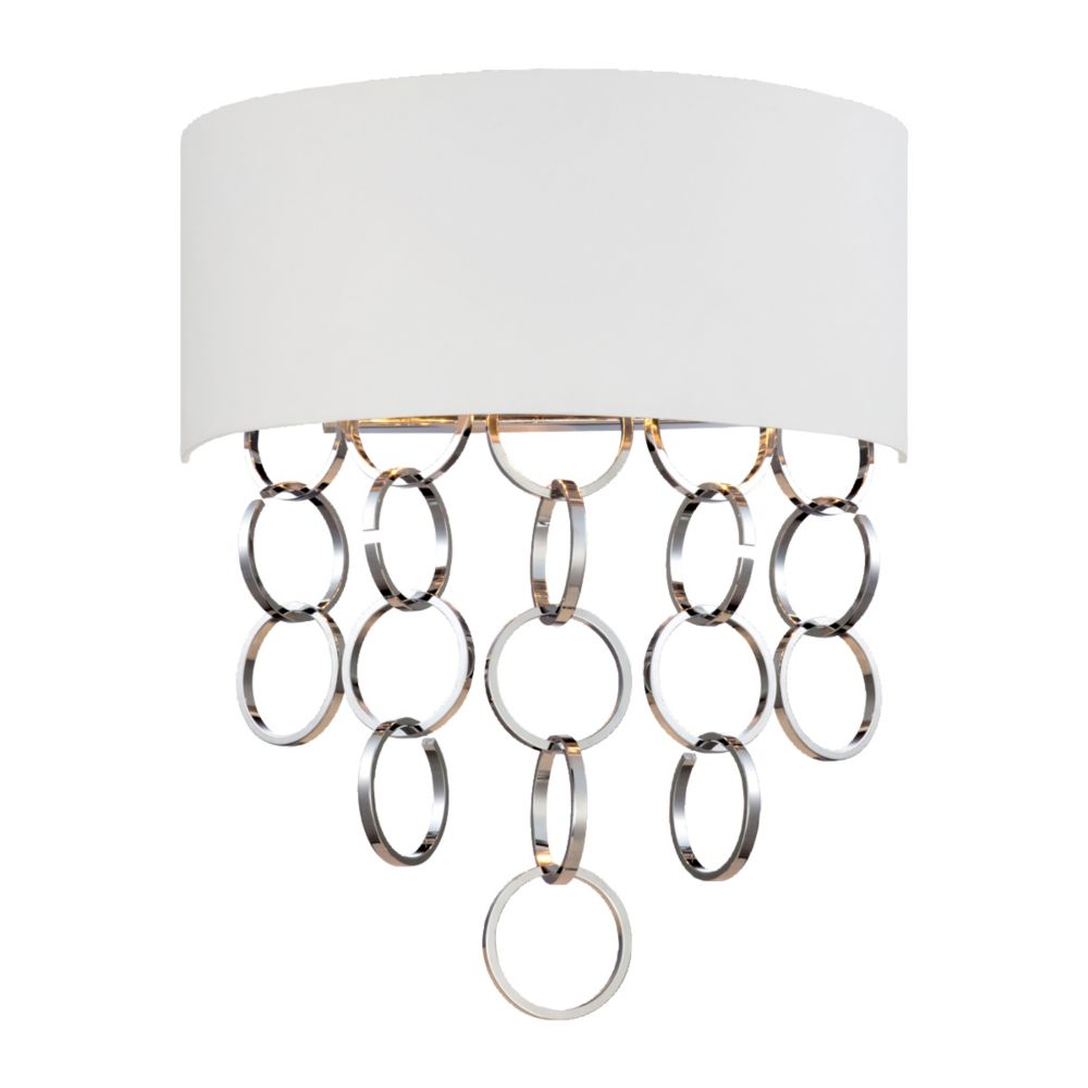 Novello Collection 2 Light Chrome Wall Sconce 25612-011 in Canada