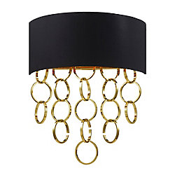 Novello Collection 2 Light Gold Wall Sconce