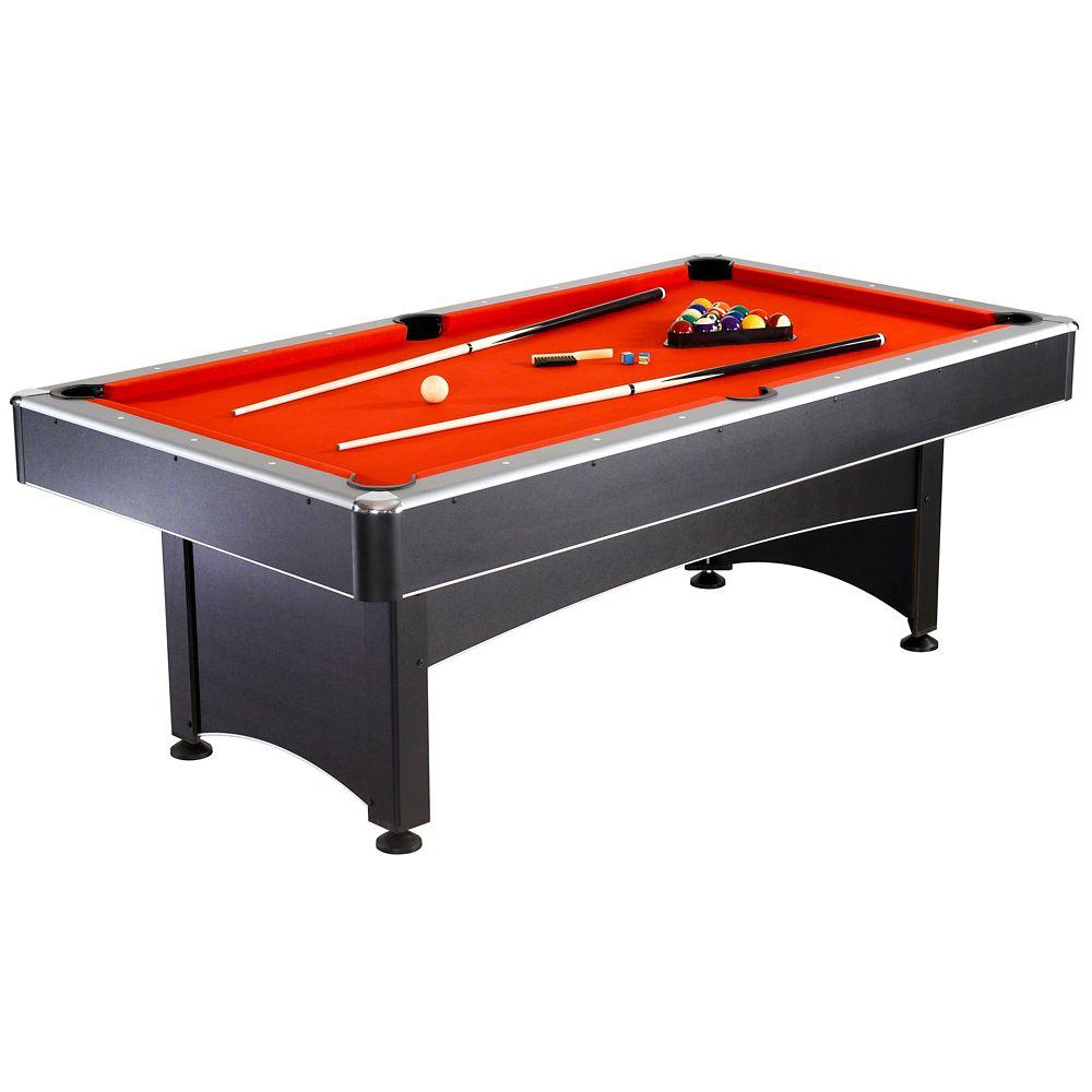 Table de billard Maverick (2,13 m) et jeu de tennis de table