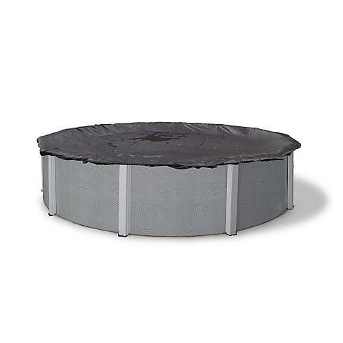 Bâche d'hiver en mailles rugueuses pour piscine hors-terre de 3,7 m (12 pi ) de diamètre