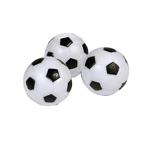 Soccer Ball Style Foosballs (3-Pack)