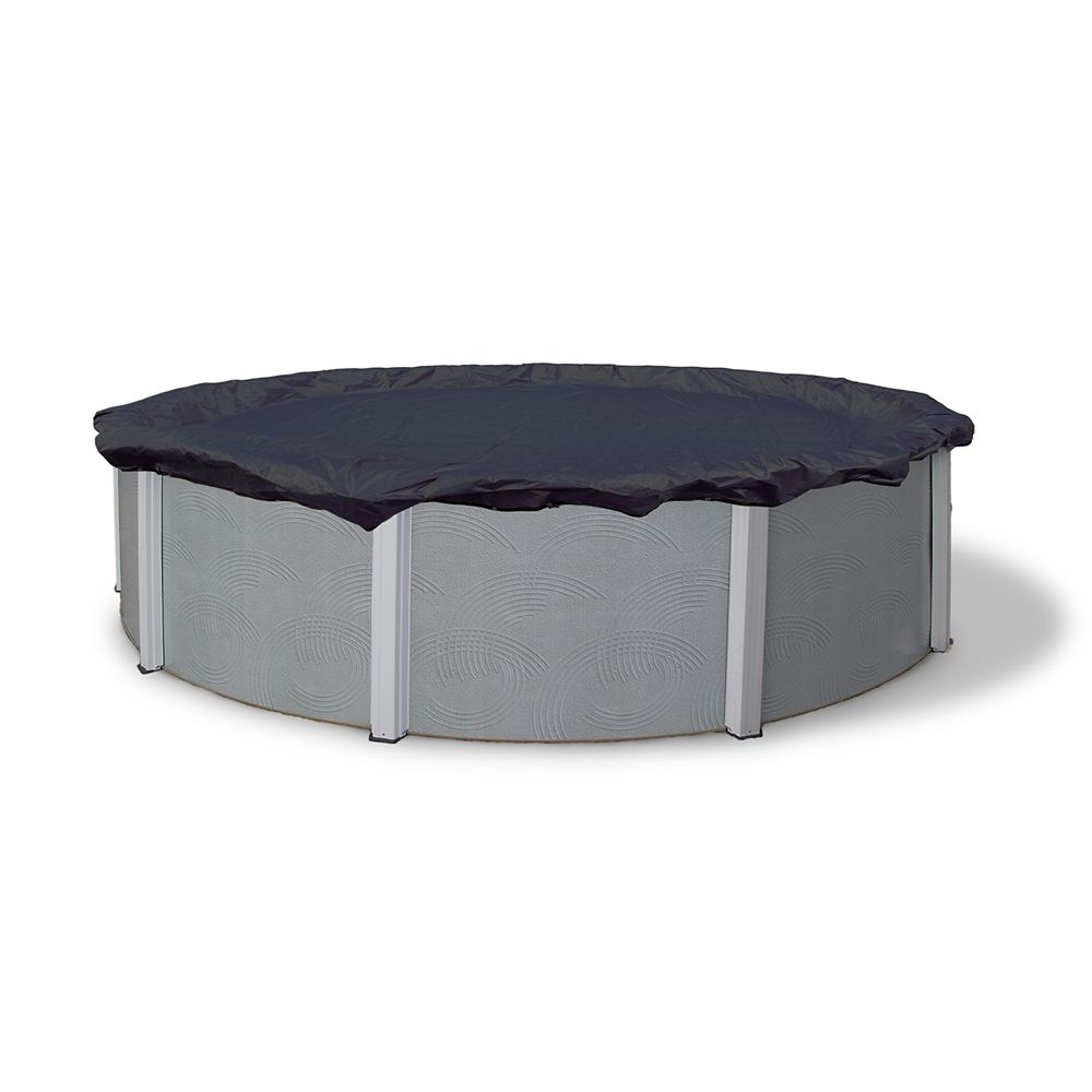 8-Year 24 Feet Round Above Ground Pool Winter Cover