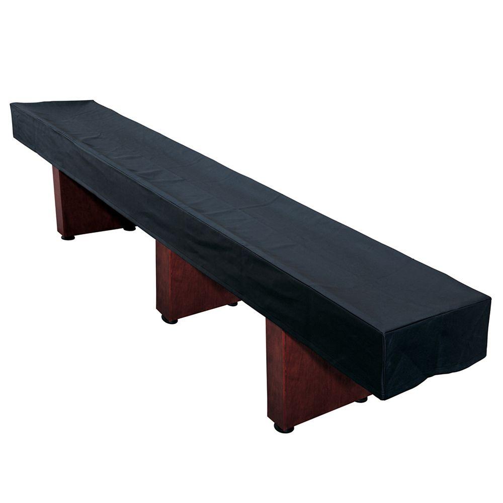 Hathaway housse noire pour table de shuffleboard 4 2 m for Housse exterieur table