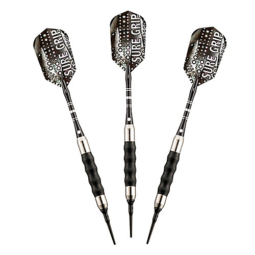 Sure Grip Soft Tip Darts - (Set of 3)