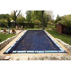 Blue Wave Filet para-feuilles pour bâche de piscine creusée rectangulaire 6,1 m x 12,2 m (20 pi x 40 pi)
