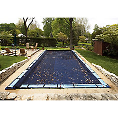 14 ft. x 28 ft. Rectangular Leaf Net In-Ground Pool Cover