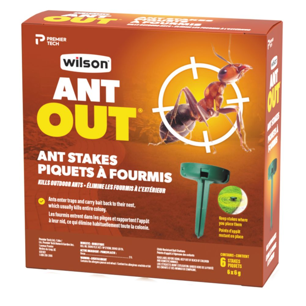 Wilson  AntOut Outdoor Ant Stakes