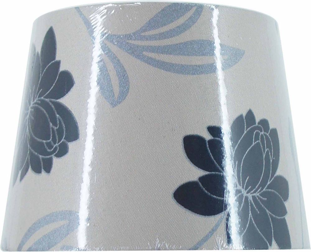 Modern Floral Hardback Accent Shade