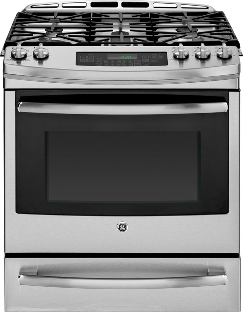 5.0 cu. ft. Slide-In Self-Cleaning Convection Gas Range in Stainless Steel