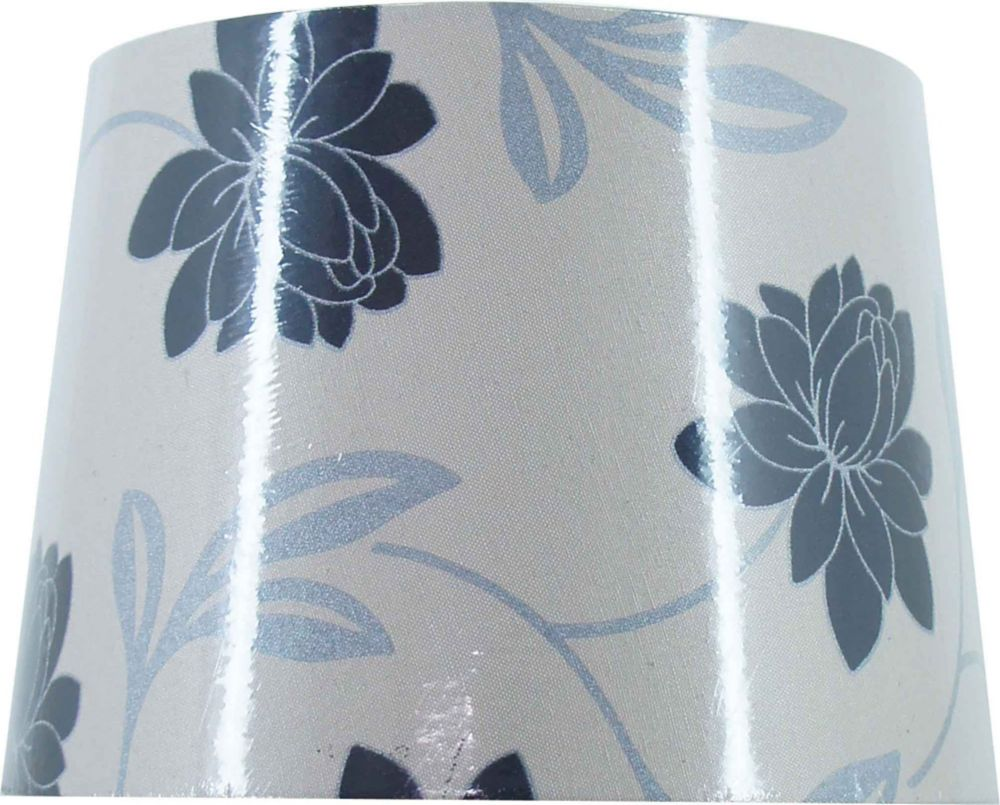 Modern Floral Hardback Table Shade