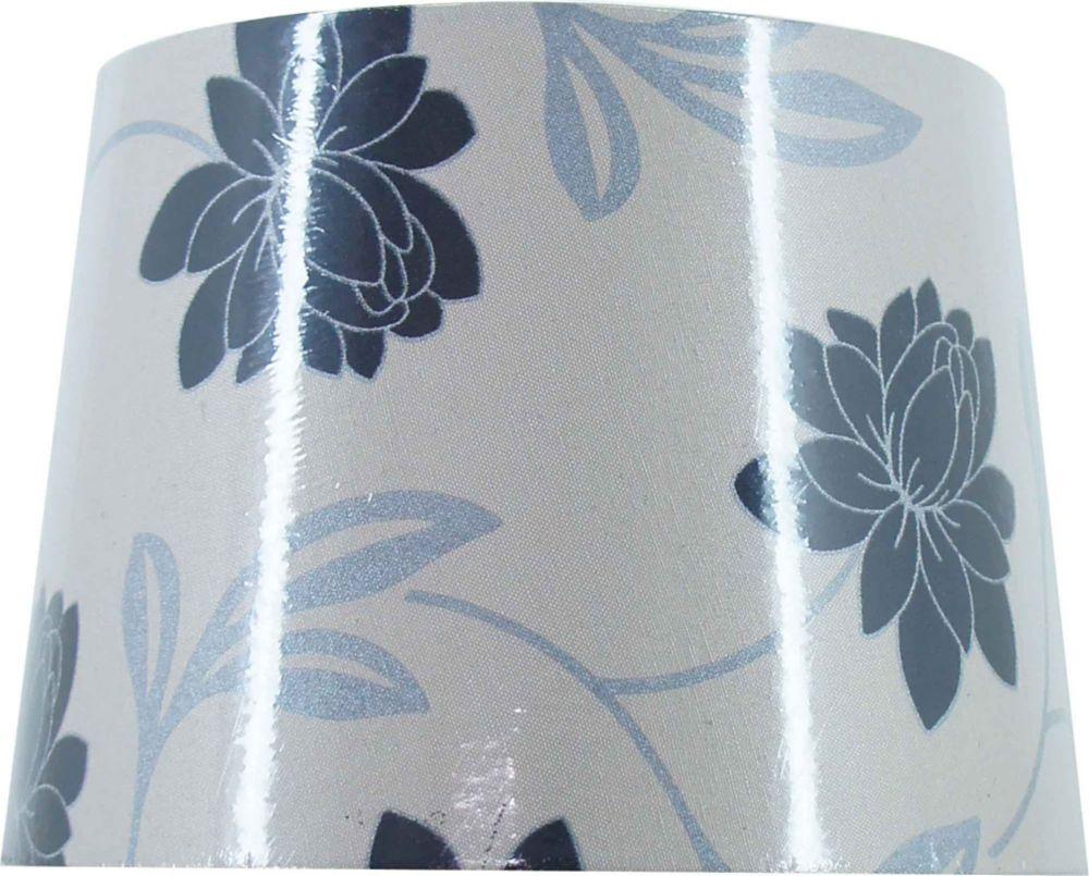 Hampton Bay Modern Floral Hardback Table Shade