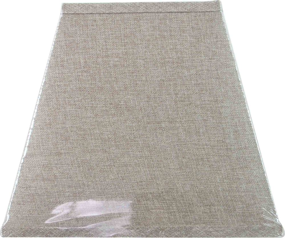 Oatmeal Linen Square Table Shade