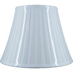 Hampton Bay White Pleated Bell Table Shade
