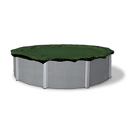 Bâche d'hiver ovale pour piscine hors-terre de 3,7 m x 7,3 m (12 pi x 24 pi), garantie de 12 ans