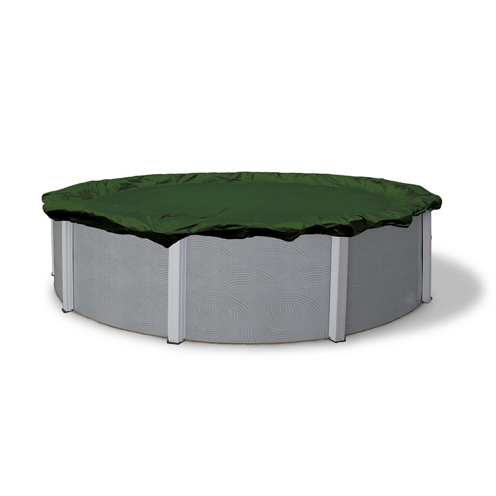 12-Year 12 Feet  x 20 Feet  Oval Above Ground Pool Winter Cover