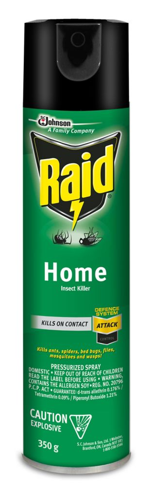 raid home insect killer the home depot canada. Black Bedroom Furniture Sets. Home Design Ideas