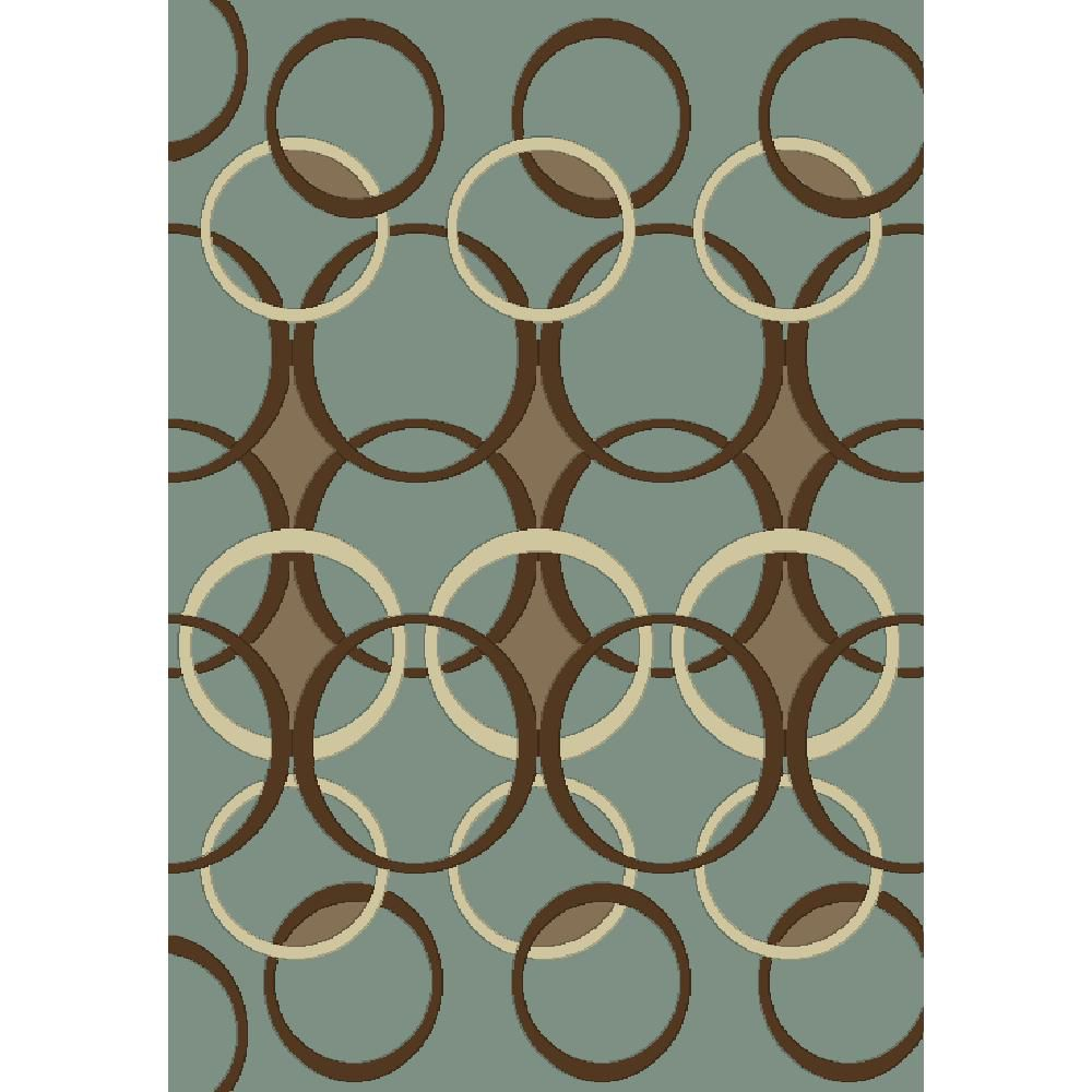 Madera Design Blue 6 Ft. 5 In. x 9 Ft. 5 In. Area Rug 2016 Canada Discount