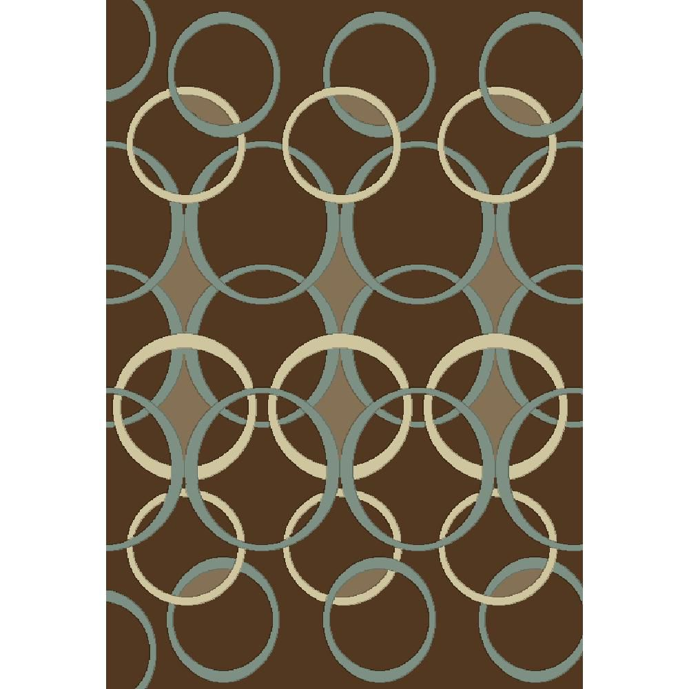 Madera Design Brown 5 Ft. 2 In. x 7 Ft. 5 In. Area Rug 2022 Canada Discount