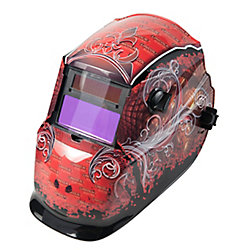Lincoln Electric Grunge Autodarkening Helmet- Variable 9-13
