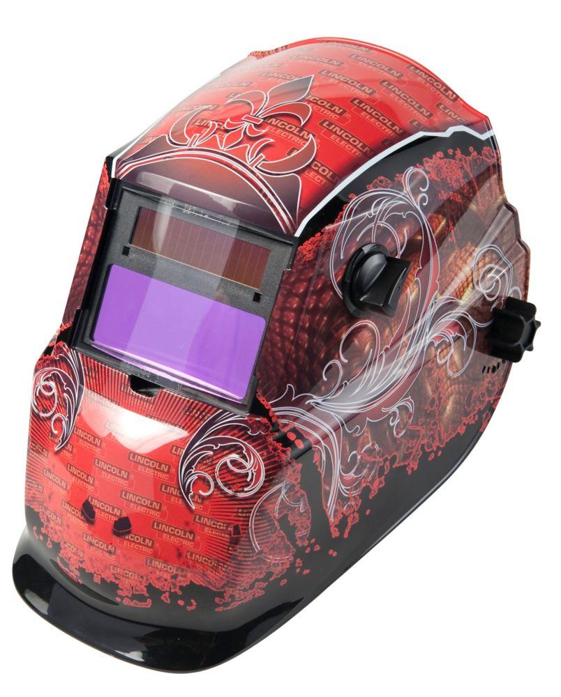 Lincoln Electric Grunge Autodarkening Helmet- Variable 9-13