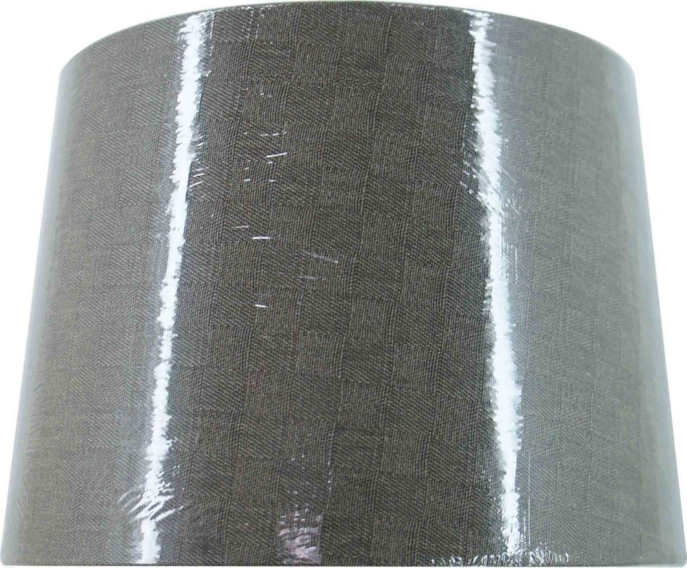 Taupe Linen Hardback Accent Shade