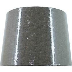 Hampton Bay Abat-jour rigide en lin taupe, lampe d'appoint