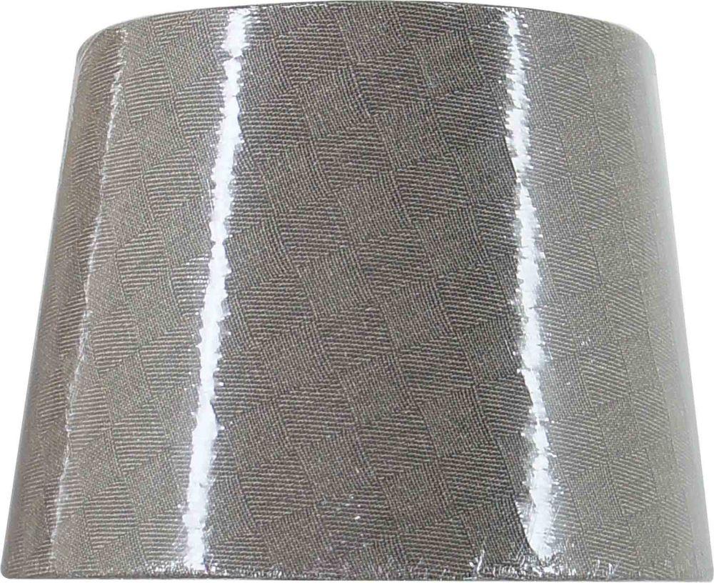 Abat-jour rigide en lin taupe, lampe de table