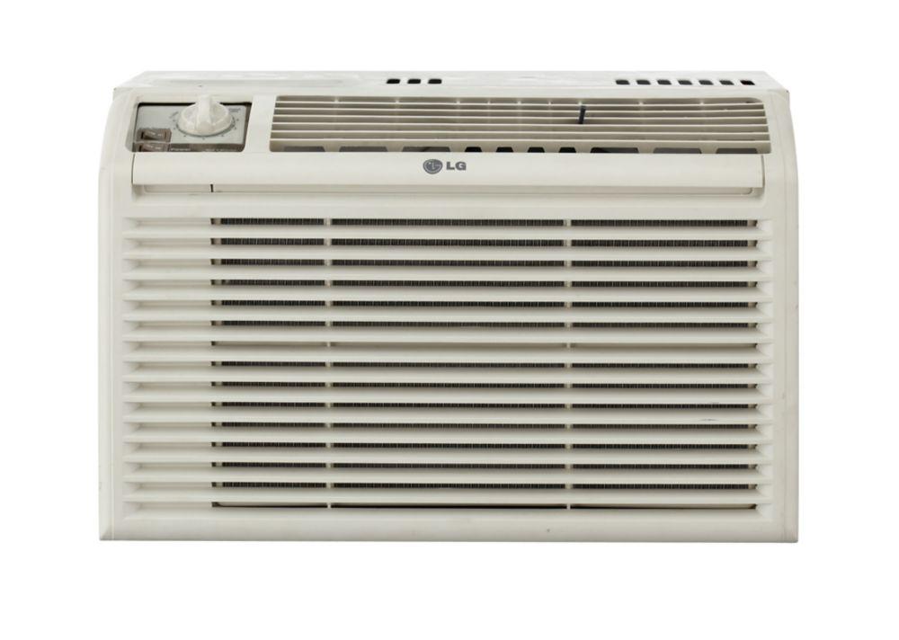 Lg climatiseur de fen tre de 5 000 btu home depot canada for Climatiseur pour fenetre