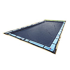 12 ft. x 20 ft. Rectangular In-Ground Pool Winter Cover
