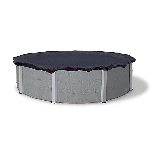 Bâche d'hiver ovale pour piscine hors-terre de 4,9 m x 9,8 m (16 pi x 32 pi), garantie de 8 ans