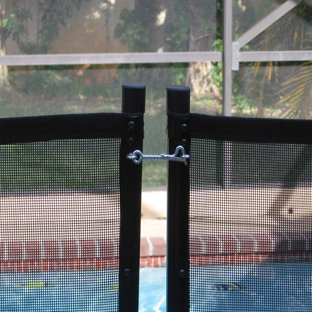 Water Warden 4 Ft X 12 Pool Safety Fence Section The Home Cost To Replace Aluminum Wiring Canada Depot