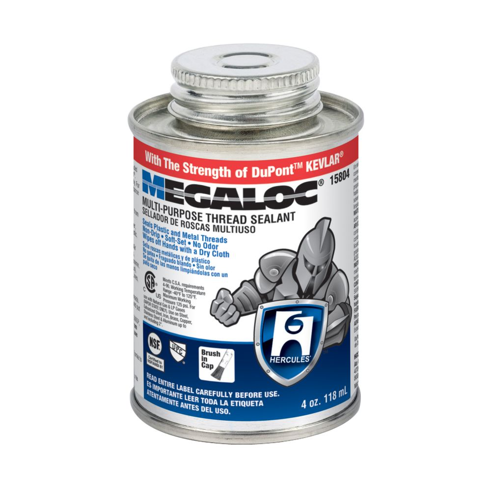 MASTIC À FILETAGE MEGALOC DE 4 OZ