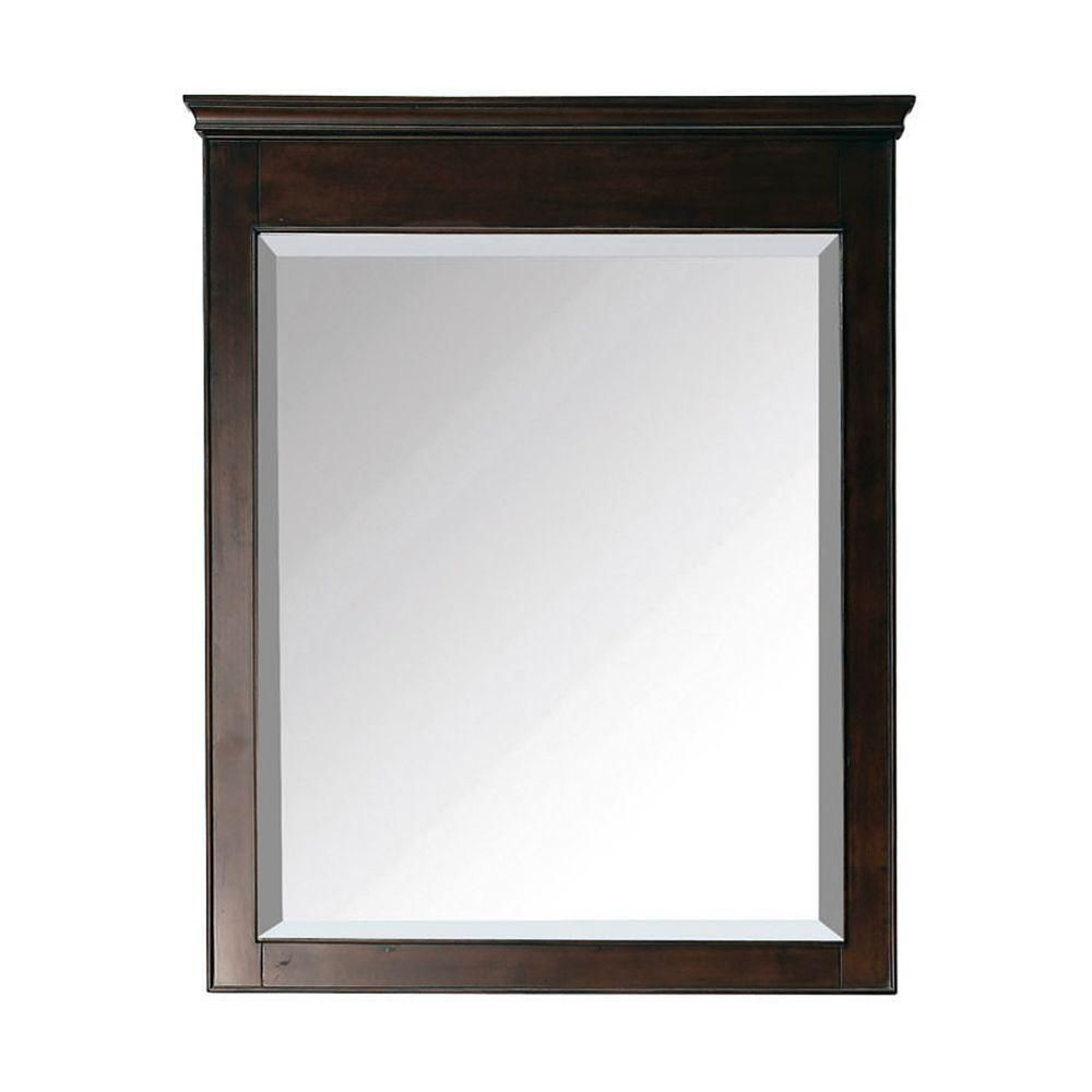 Windsor 30 Inch Mirror in Walnut Finish WINDSOR-M30-WA Canada Discount