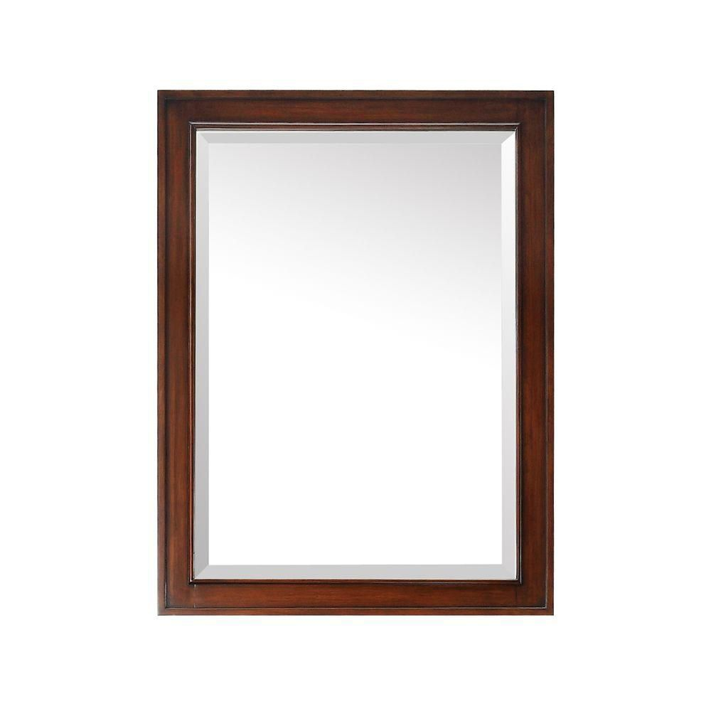 Brentwood 24 Inch Mirror in New Walnut Finish BRENTWOOD-M24-NW in Canada