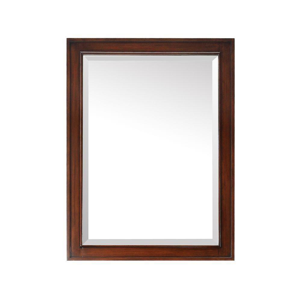Brentwood 24 Inch Mirror in New Walnut Finish